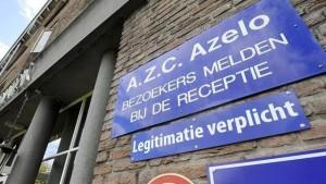 AZC Azelo bord gevel